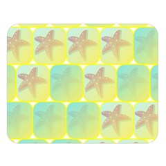 Starfish Double Sided Flano Blanket (large)  by linceazul
