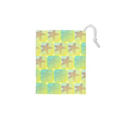 Starfish Drawstring Pouches (xs)  by linceazul