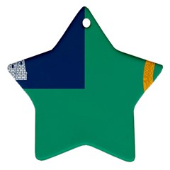 City Of Dublin Flag Ornament (star) by abbeyz71
