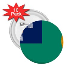 City Of Dublin Flag 2 25  Buttons (10 Pack)  by abbeyz71