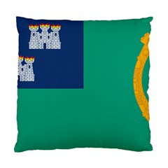 City Of Dublin Flag Standard Cushion Case (two Sides) by abbeyz71
