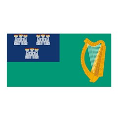 City Of Dublin Flag Satin Wrap by abbeyz71