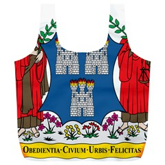 City Of Dublin Coat Of Arms  Full Print Recycle Bags (l)  by abbeyz71