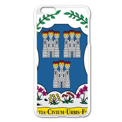 City Of Dublin Coat Of Arms  Apple Iphone 6 Plus/6s Plus Enamel White Case by abbeyz71