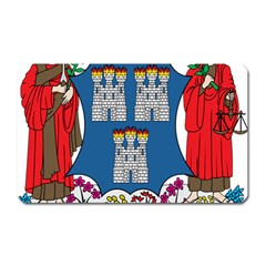 City Of Dublin Coat Of Arms Magnet (rectangular) by abbeyz71