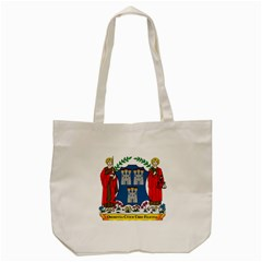 City Of Dublin Coat Of Arms Tote Bag (cream) by abbeyz71