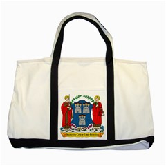 City Of Dublin Coat Of Arms Two Tone Tote Bag by abbeyz71