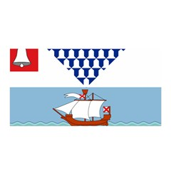 Flag Of Belfast Satin Wrap by abbeyz71