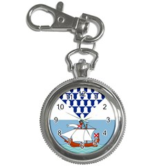 Flag Of Belfast Key Chain Watches by abbeyz71