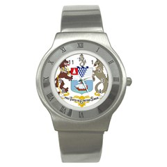 Coat Of Arms Of Belfast  Stainless Steel Watch by abbeyz71
