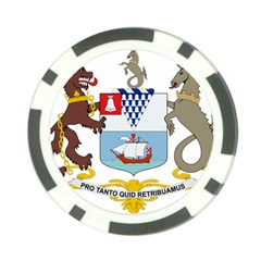 Coat Of Arms Of Belfast  Poker Chip Card Guard by abbeyz71
