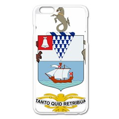 Coat Of Arms Of Belfast  Apple Iphone 6 Plus/6s Plus Enamel White Case by abbeyz71