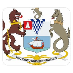 Coat Of Arms Of Belfast  Double Sided Flano Blanket (small)  by abbeyz71