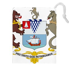Coat Of Arms Of Belfast  Drawstring Pouches (xxl) by abbeyz71