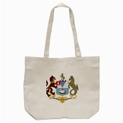 Coat Of Arms Of Belfast  Tote Bag (cream) by abbeyz71