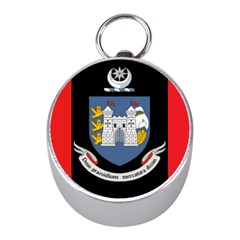 Flag Of Drogheda  Mini Silver Compasses by abbeyz71