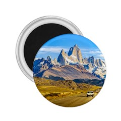 Snowy Andes Mountains, El Chalten, Argentina 2 25  Magnets by dflcprints