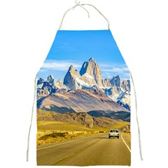 Snowy Andes Mountains, El Chalten, Argentina Full Print Aprons by dflcprints