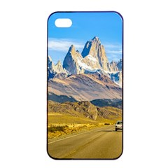 Snowy Andes Mountains, El Chalten, Argentina Apple Iphone 4/4s Seamless Case (black) by dflcprints