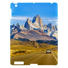 Snowy Andes Mountains, El Chalten, Argentina Apple Ipad 3/4 Hardshell Case by dflcprints