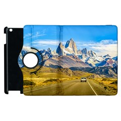 Snowy Andes Mountains, El Chalten, Argentina Apple Ipad 2 Flip 360 Case by dflcprints