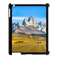 Snowy Andes Mountains, El Chalten, Argentina Apple Ipad 3/4 Case (black) by dflcprints