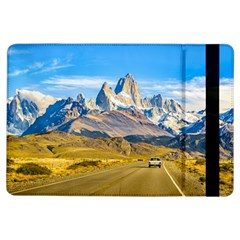 Snowy Andes Mountains, El Chalten, Argentina Ipad Air Flip by dflcprints