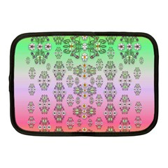 Summer Bloom In Festive Mood Netbook Case (medium)  by pepitasart