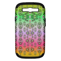 Summer Bloom In Festive Mood Samsung Galaxy S Iii Hardshell Case (pc+silicone)