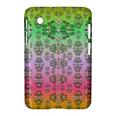 Summer Bloom In Festive Mood Samsung Galaxy Tab 2 (7 ) P3100 Hardshell Case
