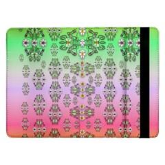 Summer Bloom In Festive Mood Samsung Galaxy Tab Pro 12 2  Flip Case by pepitasart