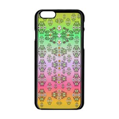 Summer Bloom In Festive Mood Apple Iphone 6/6s Black Enamel Case by pepitasart