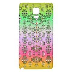 Summer Bloom In Festive Mood Galaxy Note 4 Back Case