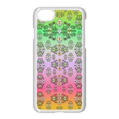 Summer Bloom In Festive Mood Apple Iphone 7 Seamless Case (white)