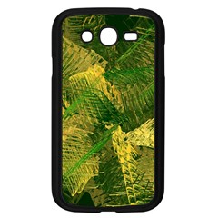 Green And Gold Abstract Samsung Galaxy Grand Duos I9082 Case (black) by linceazul