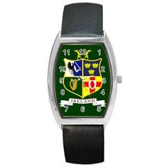 Flag Of Ireland National Field Hockey Team Barrel Style Metal Watch by abbeyz71