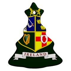 Flag Of Ireland National Field Hockey Team Ornament (christmas Tree)  by abbeyz71
