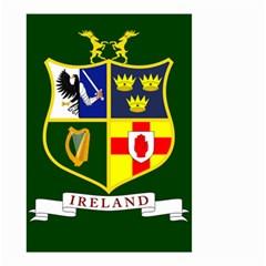Flag Of Ireland National Field Hockey Team Small Garden Flag (two Sides) by abbeyz71