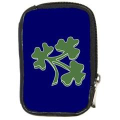 Flag Of Ireland Cricket Team Compact Camera Cases by abbeyz71