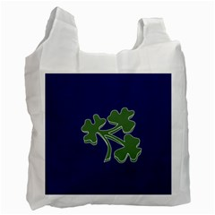 Flag Of Ireland Cricket Team  Recycle Bag (one Side) by abbeyz71