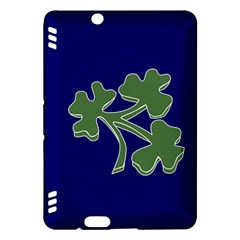 Flag Of Ireland Cricket Team  Kindle Fire Hdx Hardshell Case by abbeyz71