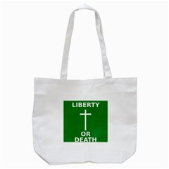 Battle Of Arklow Flag Tote Bag (white) by abbeyz71