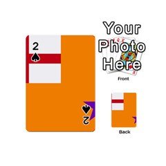 Flag Of The Orange Order Playing Cards 54 (mini)  by abbeyz71