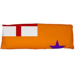 Flag Of The Orange Order Body Pillow Case Dakimakura (two Sides) by abbeyz71