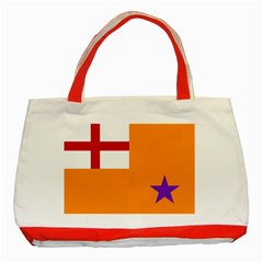 Flag Of The Orange Order Classic Tote Bag (red) by abbeyz71