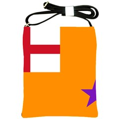 Flag Of The Orange Order Shoulder Sling Bags by abbeyz71