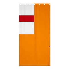 Flag Of The Orange Order Shower Curtain 36  X 72  (stall)  by abbeyz71