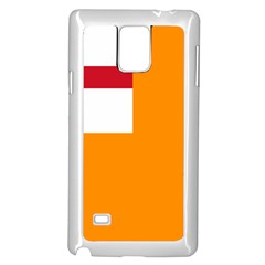 Flag Of The Orange Order Samsung Galaxy Note 4 Case (white) by abbeyz71