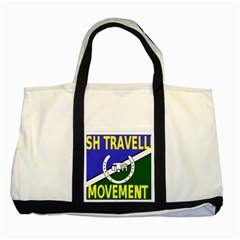 Flag Of The Irish Traveller Movement Two Tone Tote Bag by abbeyz71