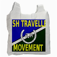 Flag Of The Irish Traveller Movement Recycle Bag (one Side) by abbeyz71